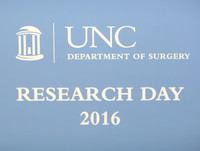 Surgery Research Day 2016